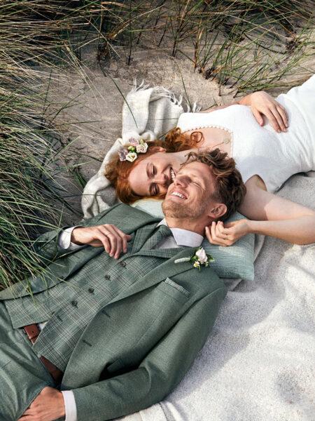 WILVORST Green Wedding alpesi zöld esküvői öltöny 411110-45
