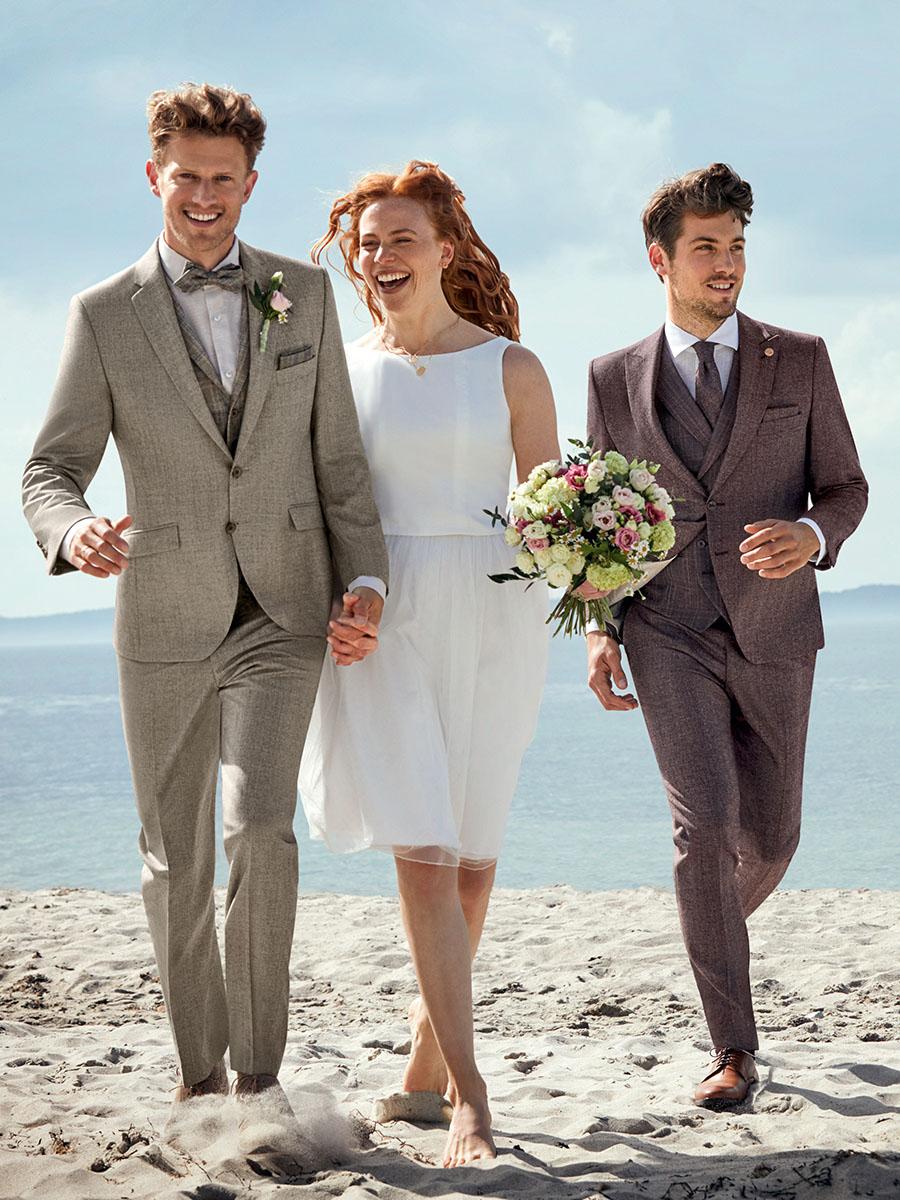 WILVORST Green Wedding krémszínű esküvői öltöny 411108-82