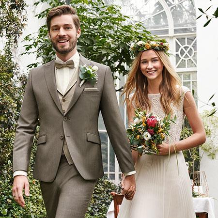Green Wedding esküvői pár